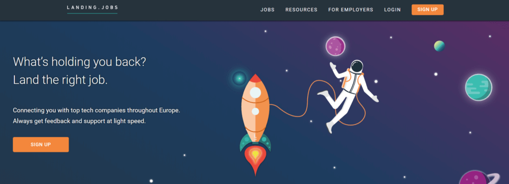 Remote Jobs Websites Landing.Jobs