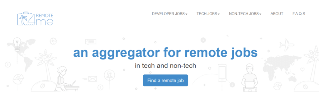 Remote Jobs Websites Remote4Me