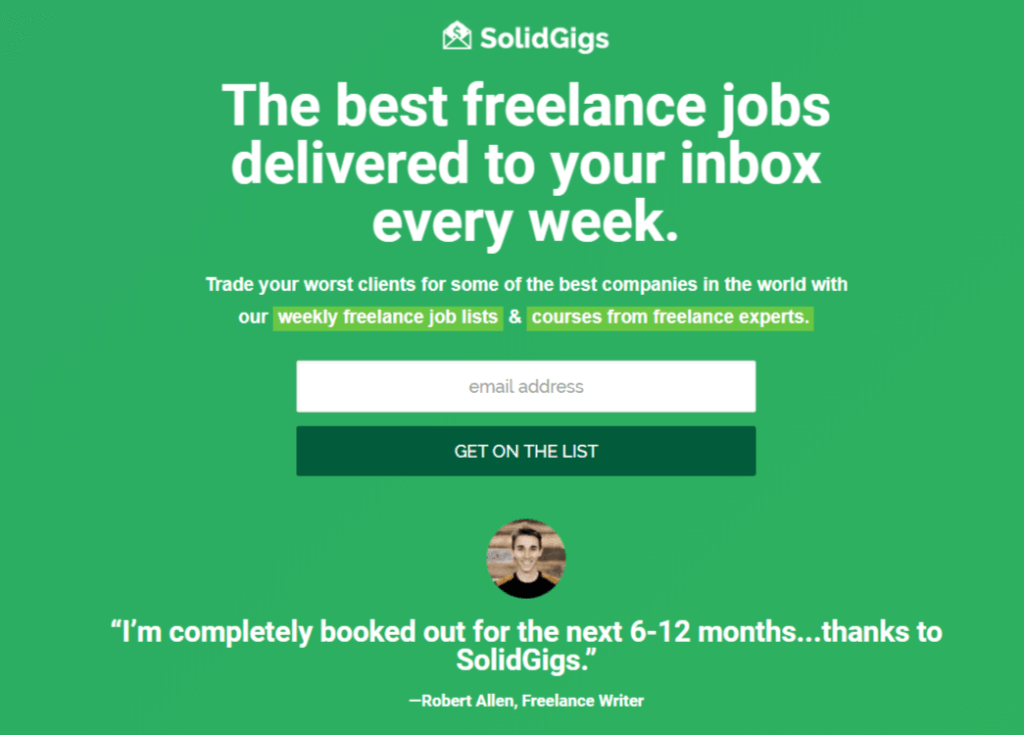 Remote Jobs Websites SolidGigs