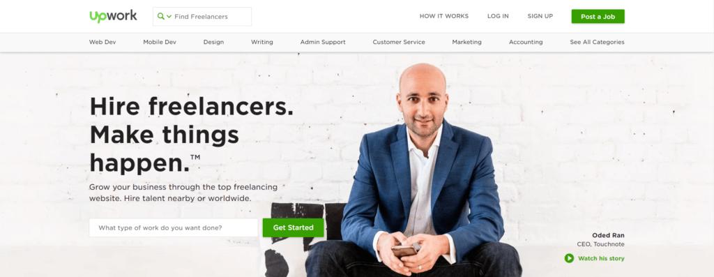 Remote Jobs Websites Upwork