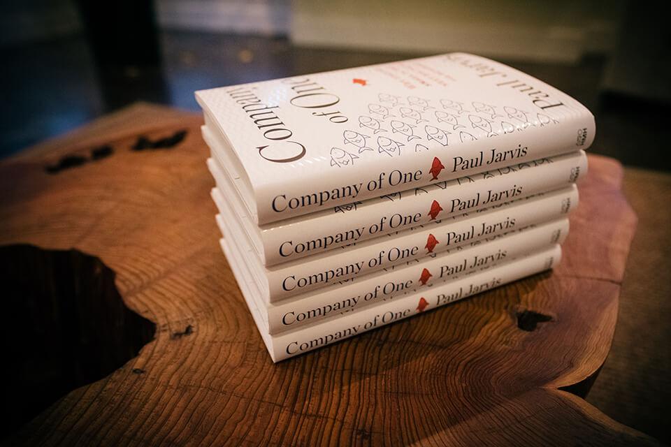 Company of One de Paul Jarvis O livro mais vendido deste ano