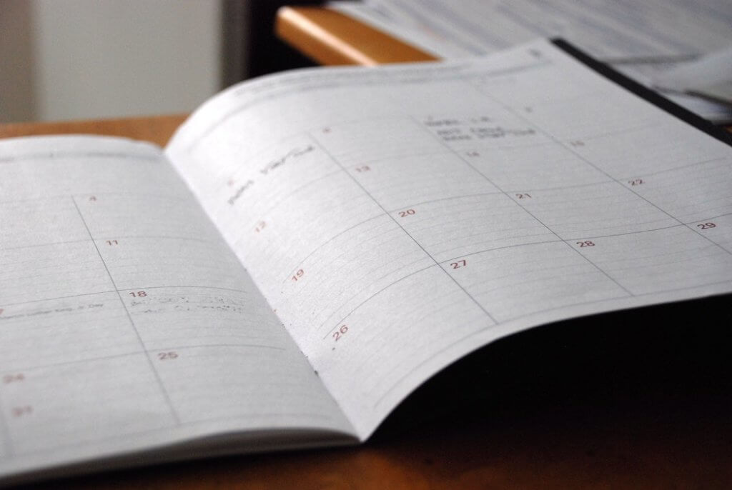 Blog Post Ideas Share Your Schedule