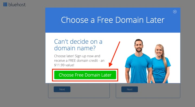 How to Choose Your Domain Name for Your Blog Later if You Can't Decide
