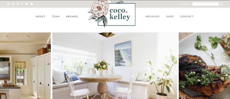 How to Name Your Blog Example Coco and Kelly