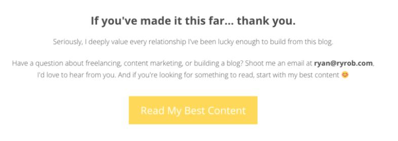 Come creare un invito all'azione sul tuo sito web