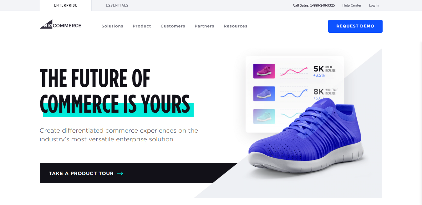BigCommerce as One of the Best Website Builders for Bloggers and eCommerce Entrepreneurs