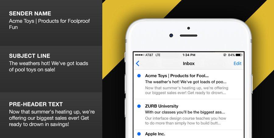 Prova le righe dell'oggetto negli strumenti di email marketing