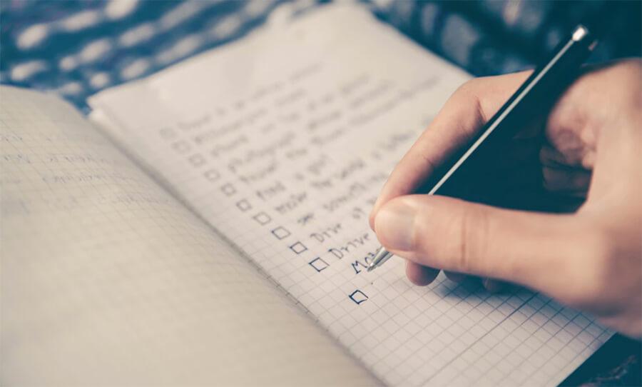 Come scegliere una nicchia da blog su Elenco di controllo e quadro di convalida