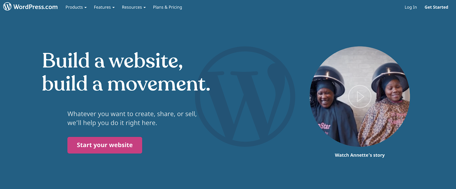 WordPress Dot Com as a Top Free Blogging Site to Use