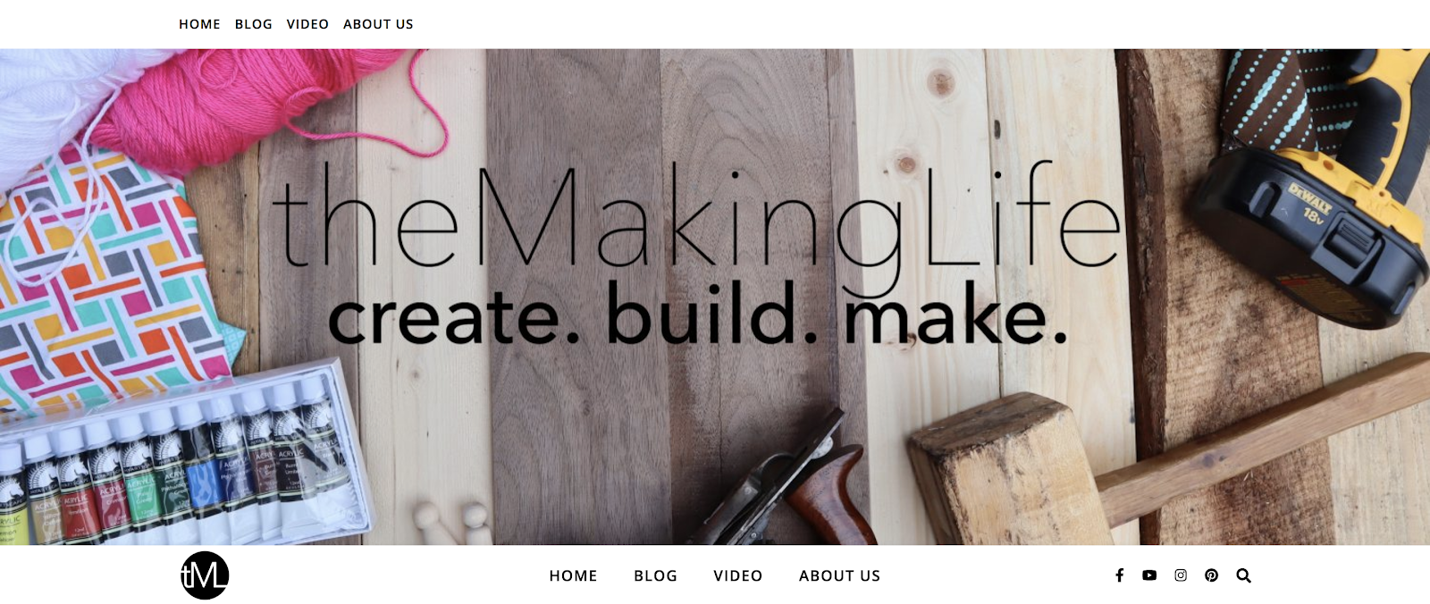 Crafting Example of a Free Blog Built with WordPress