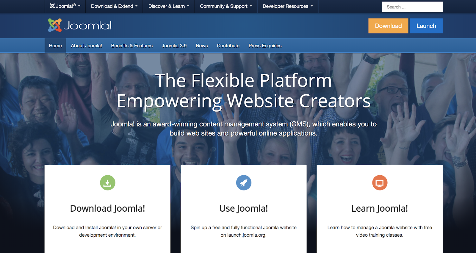 Joomla Self-Hosted Free Blogging Site to Use on a Budget