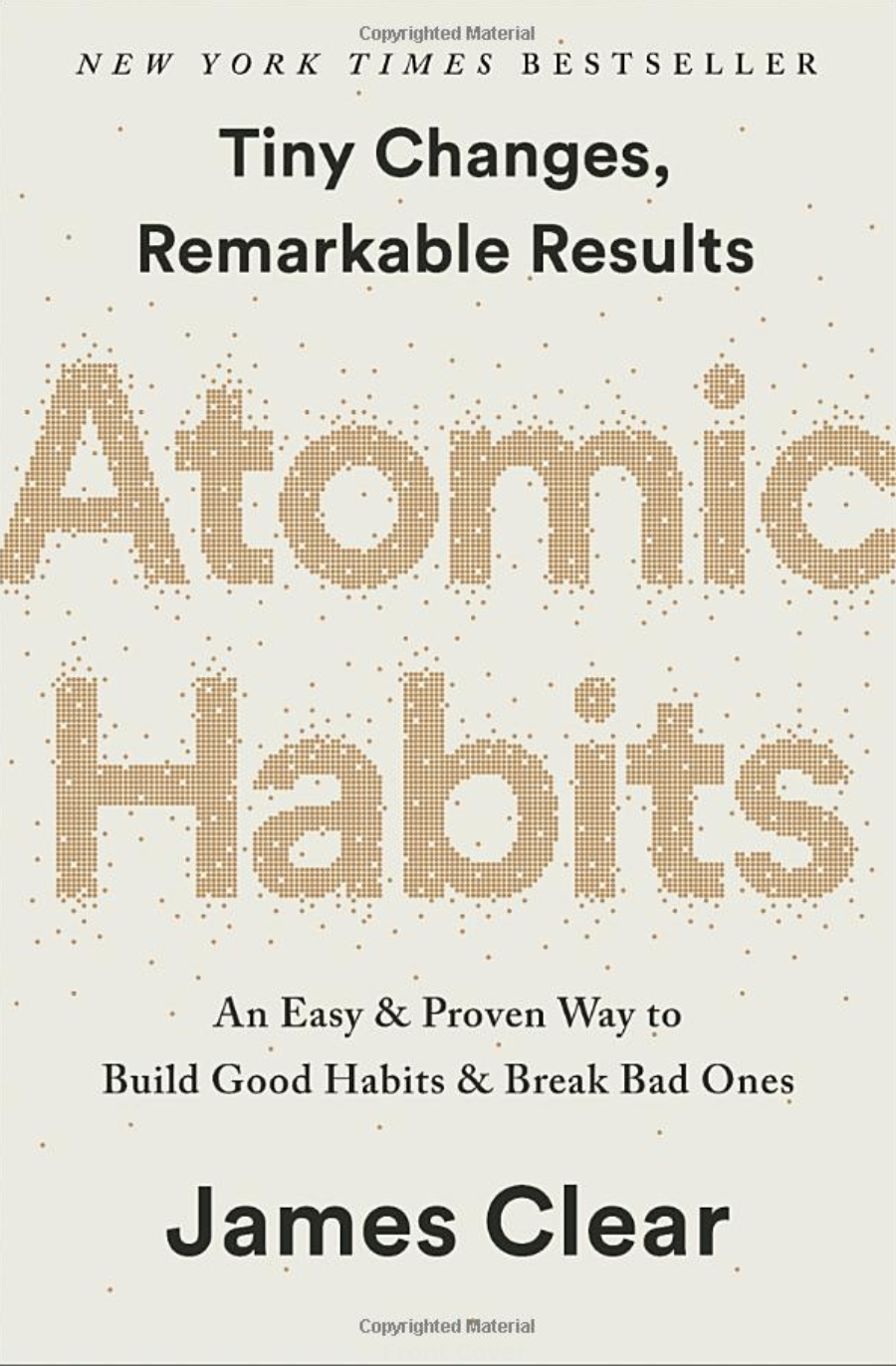 Atomic Habits of James A clear book for blogger readers