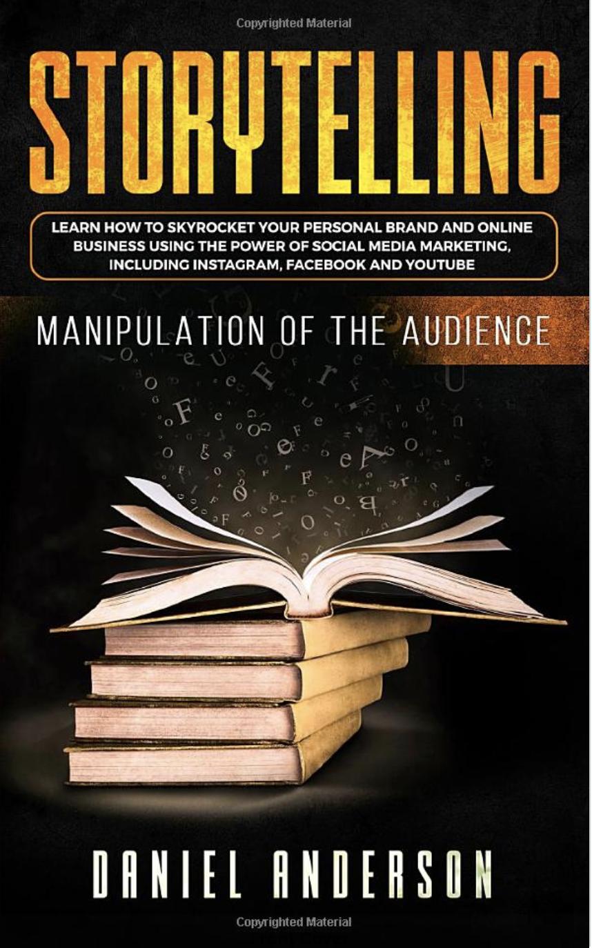 Livro de histórias para blogueiros escreverem de maneira mais eficaz