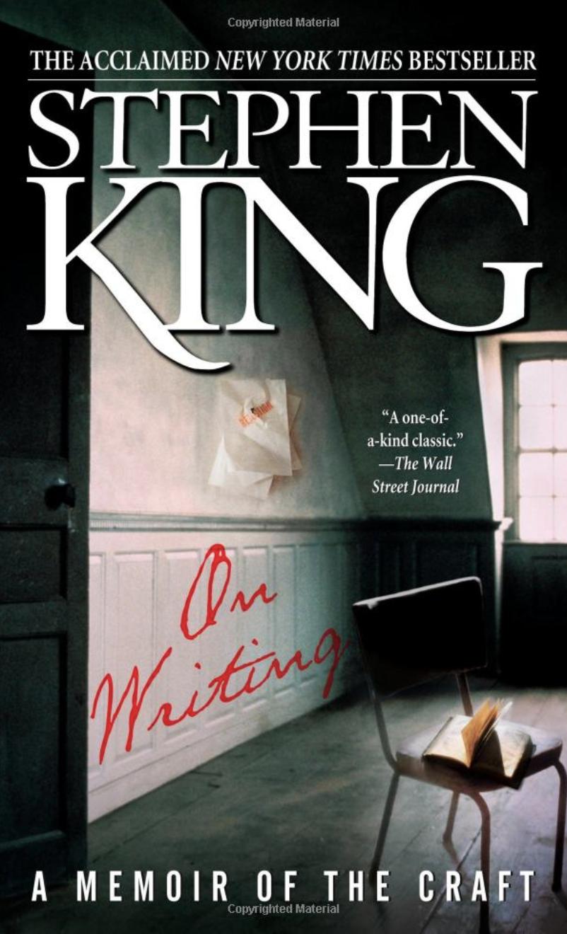 Livro de Stephen King sobre escrita para blogueiros