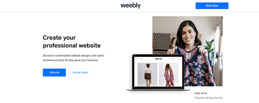 Weebly Free Blogging Sites to Build Your Blog On
