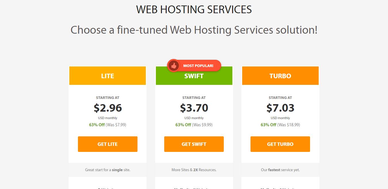 best web hosting plans a2 2