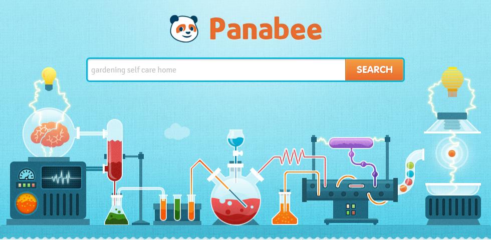 Panabee's Domain Name Generator Homepage Example