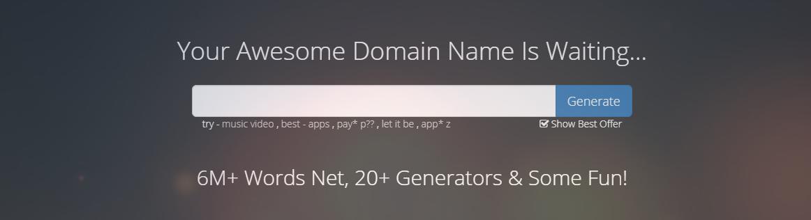 Top Name Generators by Name Mesh