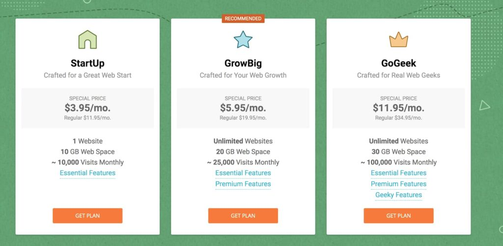SiteGround's Best Hosting Plans Compared and Priced Out to Evaluate