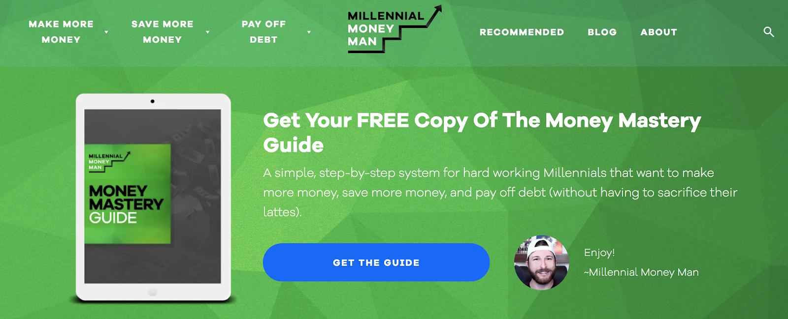 Mistakes to Avoid When Blogging (Millennial Money Man Example) Screenshot