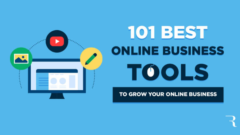 101 Best Online Business Tools to Grow Your Business Online (Quickly) Hero Image