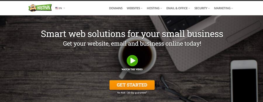 HostPapa Web Hosting Plans for Small Businesses