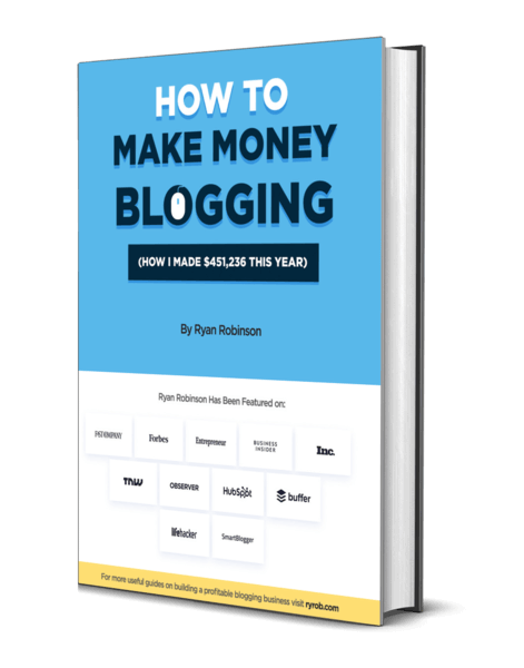 How to Make Money on Blogs: Ryan Robinson