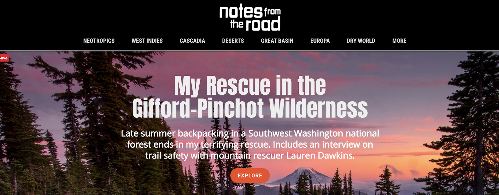 Notes From the Road Blog in the Travel and Adventure Niche
