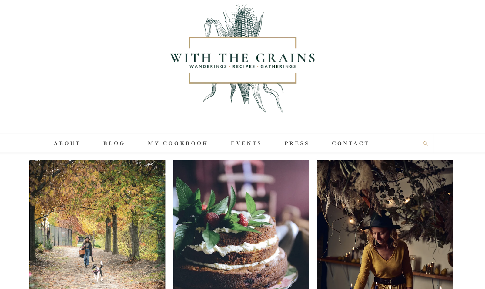 With the Grains Cooking and Recipes Niche Example