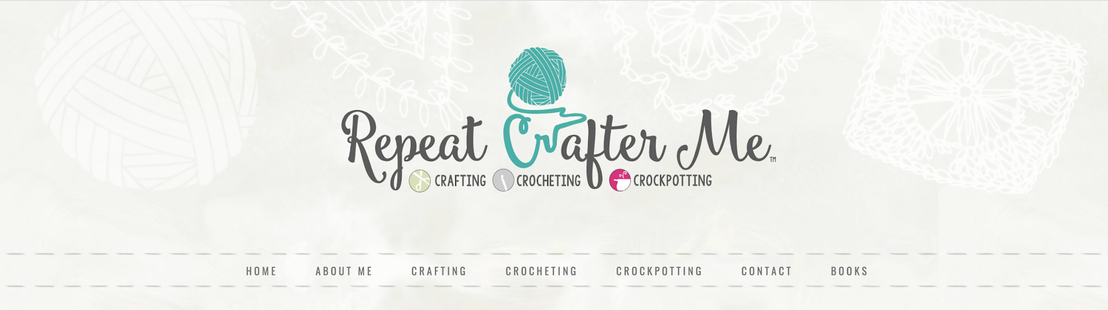Repeat Crafter Me Creative Example of a Good Name for a Blog