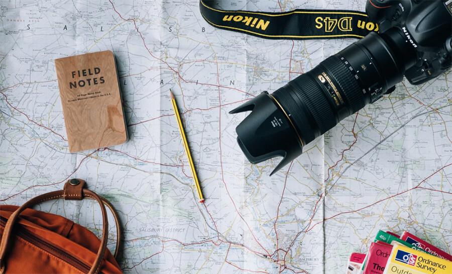 كيفية تصميم مدونة السفر على وورد (دروس)