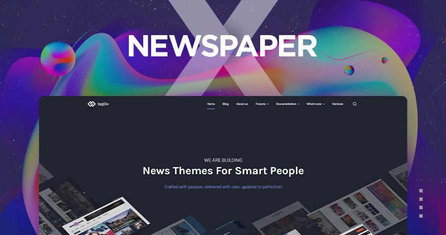 Newspaper WordPress Theme by tagDiv