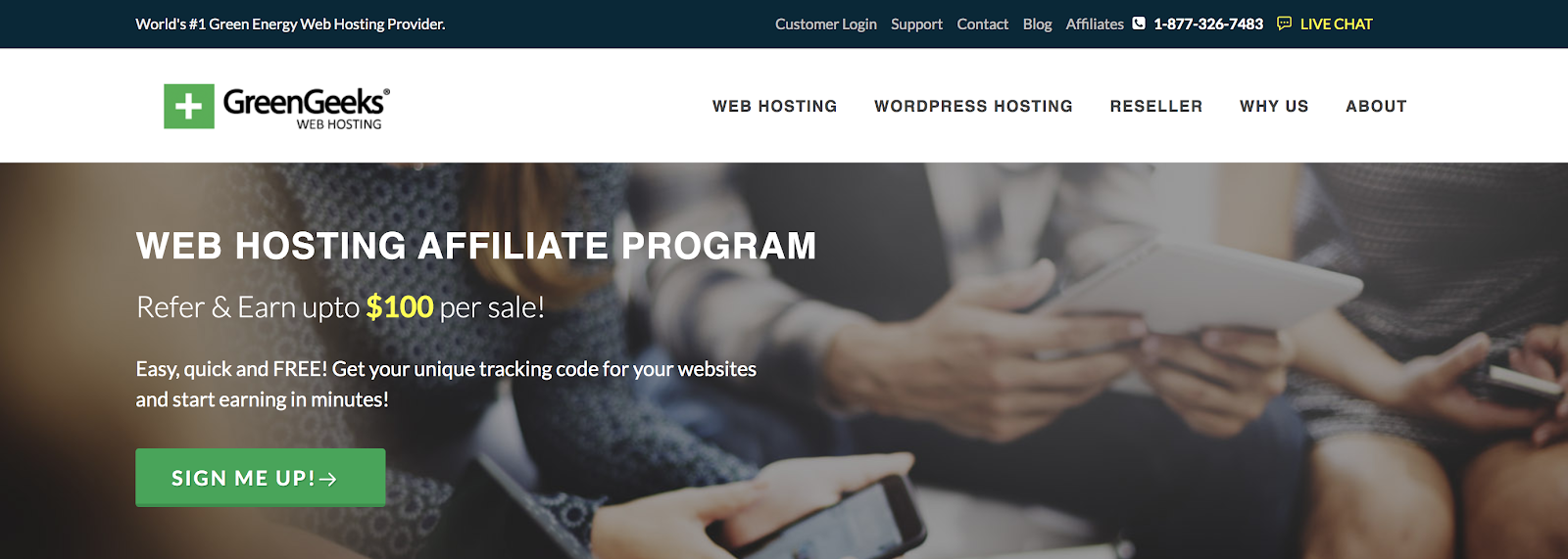 GreenGeeks Web Hosting Referral Program Details