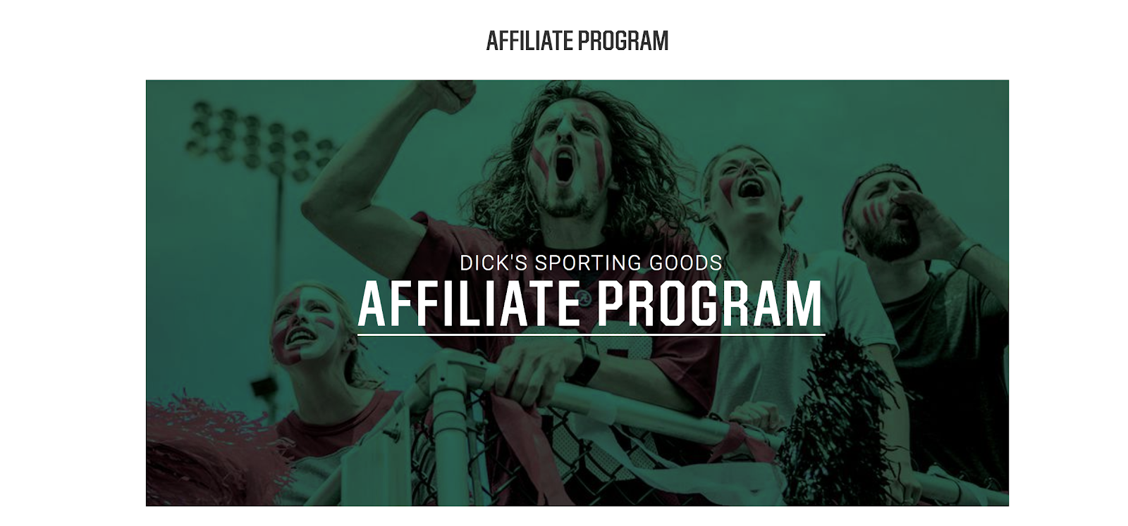 Dick's Sporting Goods Affiliate Program for Bloggers