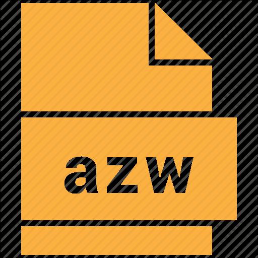 AZW File Format for eBooks (Logo)