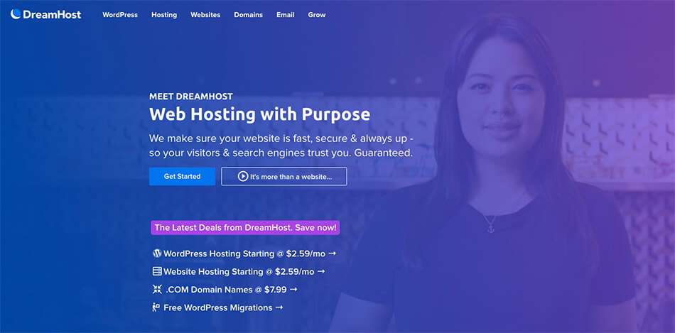 Dreamhost Fast Web Hosting to Power Your Blog Quicker