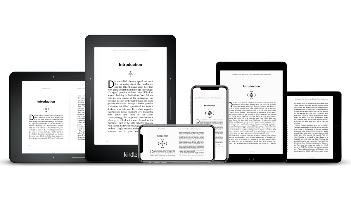 Example of Reflowable eBook Layout (Responsive)