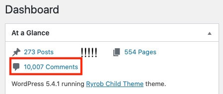 10,000 comments in a blog about fish