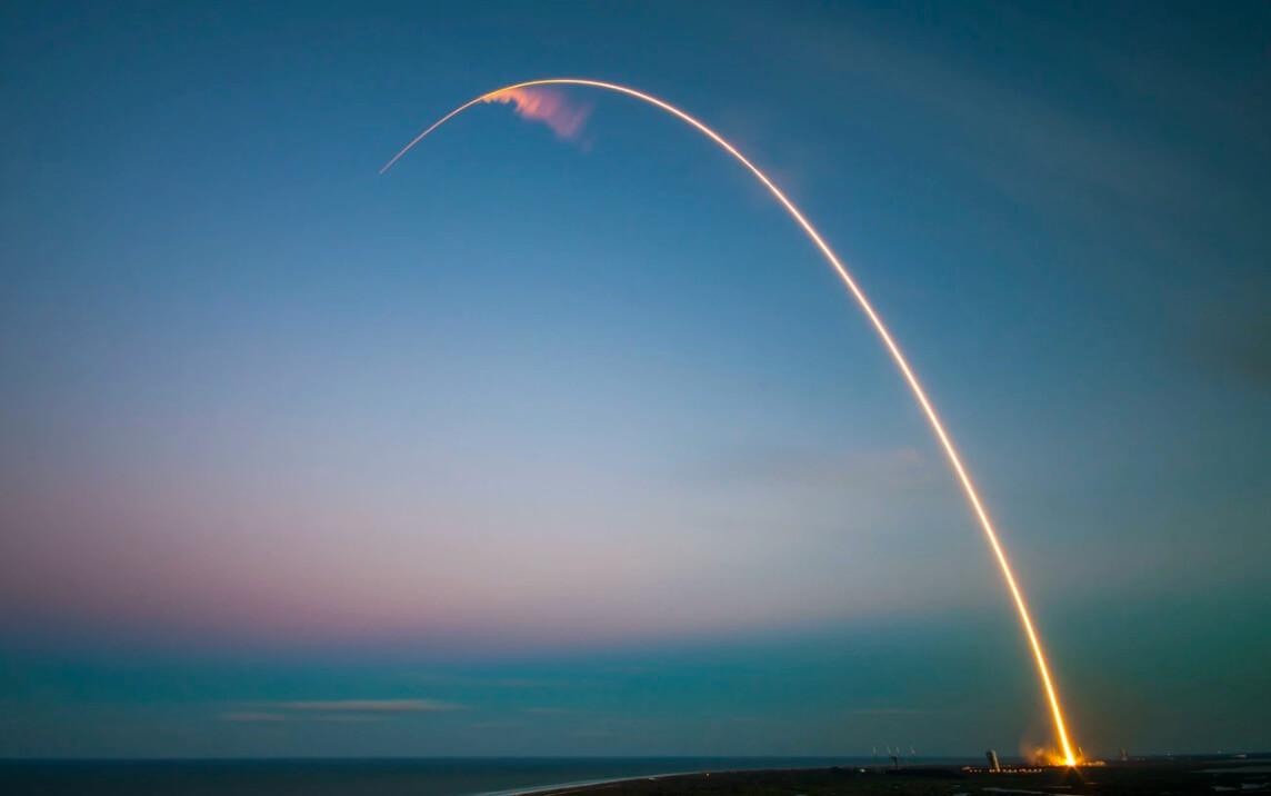 Rocket Launch Stock Image