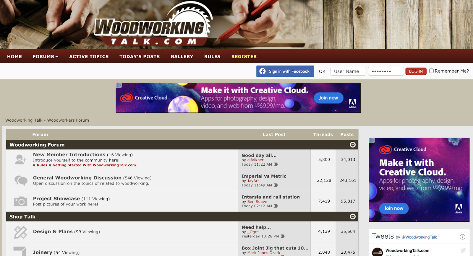 How to Find Your Target Audience for Your Blog with Discussion Forums (Screenshot of Online Forum Example)