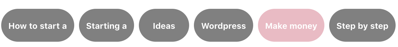 Screenshot of Pinterest Keyword Search Terms (to Narrow Your Results) and Gather Insights