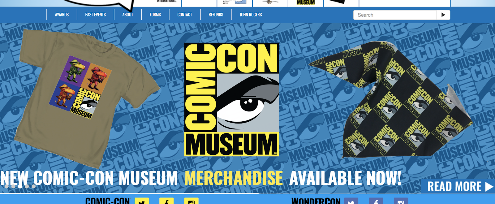 Comic Con Screenshot (Events to Meet Your Blog Readers At)