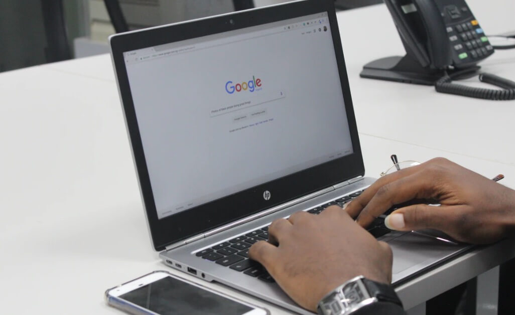 Writing SEO Friendly Blog Headlines (Google Browser Screenshot)