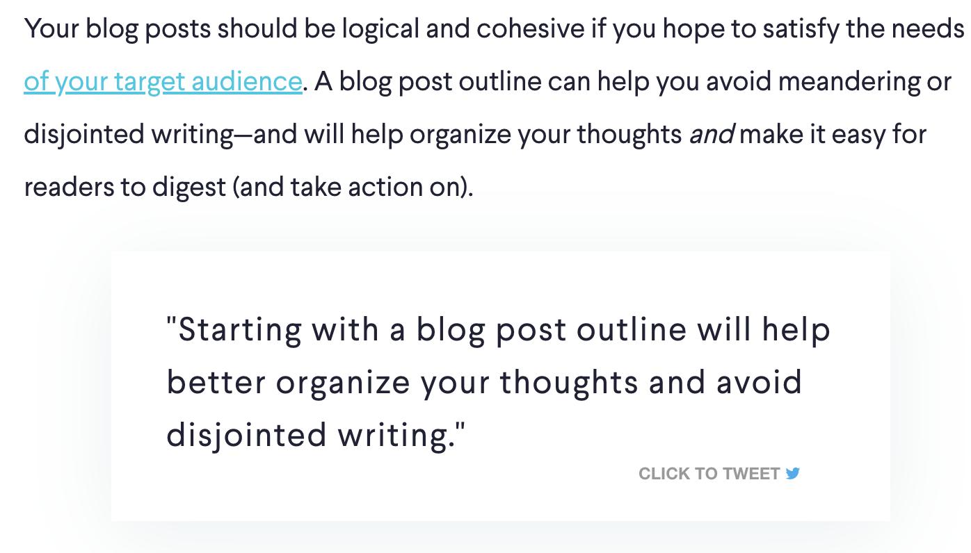 Screenshot of Click to Tweet WordPress Widget (Making Content More Shareable