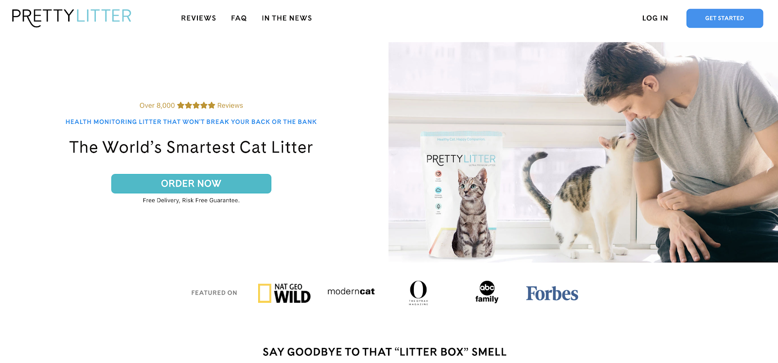 Pretty Litter Blog and eCommerce Store for Cat Owners