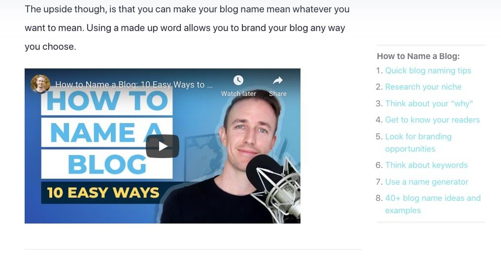 Example of Using YouTube in Your Blog Marketing Strategies (Screenshot of Ryan Robinson YouTube Videos)