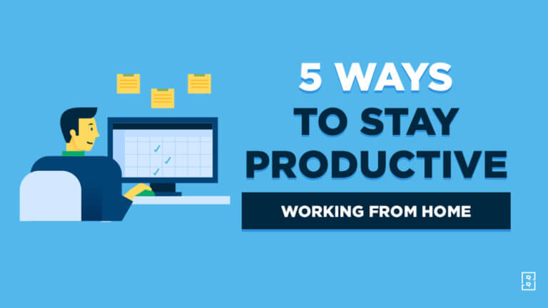 How to Be Productive Working from Home (Work From Home Productivity Tips)